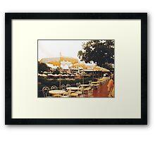 Disney Cafe Framed Print
