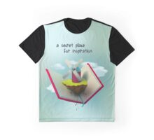 A secret place for inspiration Graphic T-Shirt