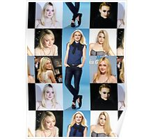 Dakota Fanning - Celebrity (Collage Photo) Poster