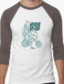 Ride or Don't Men's Baseball ¾ T-Shirt