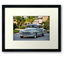1947 Cadillac Series 60 Fleetwood Sedan Framed Print