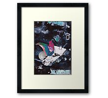 Scraps of Poetry 2 Framed Print
