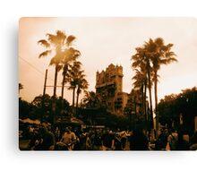 Hollywood Tower Hotel - Walt Disney World Canvas Print