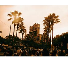 Hollywood Tower Hotel - Walt Disney World Photographic Print