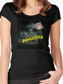 Haunted Mansion - Repossessed Women's Fitted Scoop T-Shirt