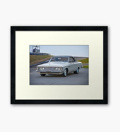 1963 Plymouth Fury Convertible Framed Print