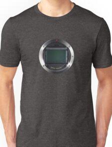 Lens Mount - Attach Lens Here Unisex T-Shirt