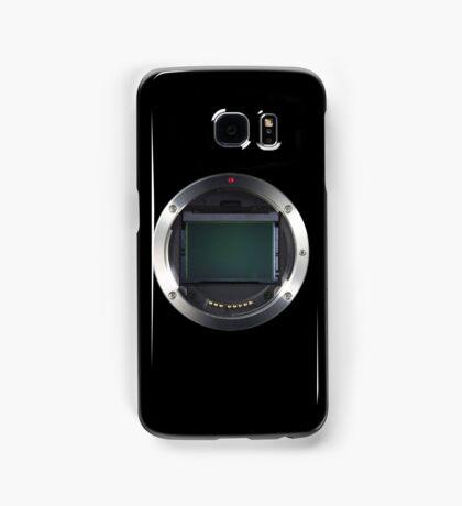 Lens Mount - Attach Lens Here Samsung Galaxy Case/Skin