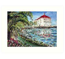 Casino Catalina Art Print