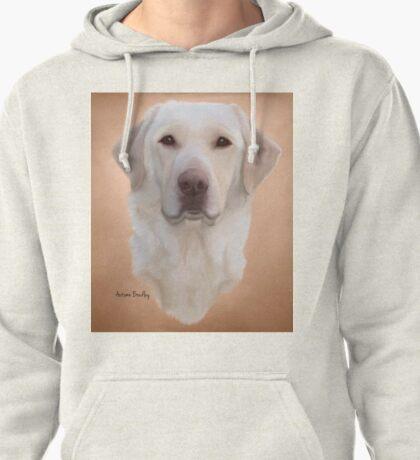 White Labrador Retriever  Pullover Hoodie