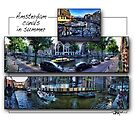 Amsterdam: Summer Canals by Ted Byrne