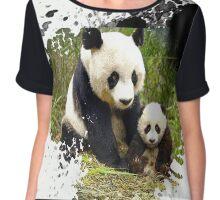 panda bear Chiffon Top