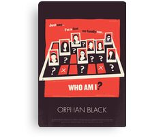 Who am I? Canvas Print