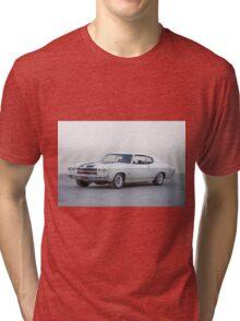 1970 Chevrolet Chevelle SS396  Tri-blend T-Shirt