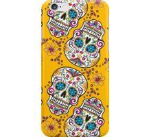 Sugar Skull YELLOW iPhone Case/Skin