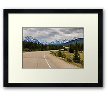 Icefields Parkway 2 Framed Print