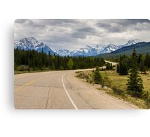 Icefields Parkway 2 Canvas Print