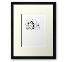 FUN GIRL Framed Print