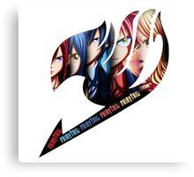 Fairy Tail Group - Anime Logo Canvas Print