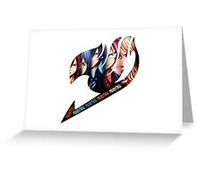 Fairy Tail Group - Anime Logo Greeting Card