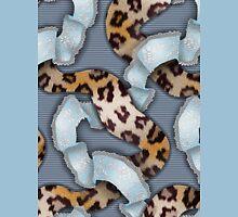 Leopards'n Lace - Blue Unisex T-Shirt