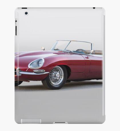 British E-Type Roadster 'Replica' iPad Case/Skin