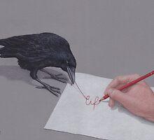 Lars Furtwaengler - Colored Pencil by Lars Furtwaengler