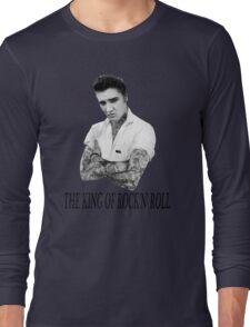 Elvis Presley Tattoo Rockabilly Vintage Long Sleeve T-Shirt