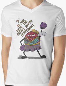 pepe the preppy peppy pepperoni Mens V-Neck T-Shirt