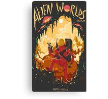 Alien Worlds Canvas Print