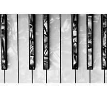 ACCORDION KEYBOARD Photographic Print