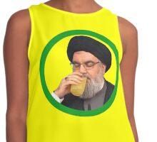 Nasrallah Drinks the Lemonade Contrast Tank