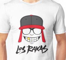 LOS RAKAS LOGO WHITE Unisex T-Shirt