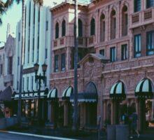 Hollywood Strip - Universal Studios Sticker