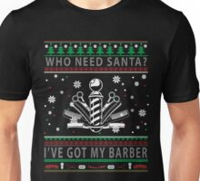Barber Christmas 2017 Unisex T-Shirt