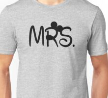 Mrs. Minnie Unisex T-Shirt