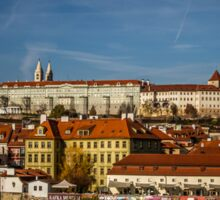 Prague Castle Sticker