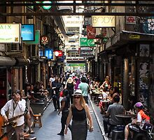 ~ Degraves Street ~ by Lynda Heins