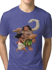 Moana Journey Tri-blend T-Shirt