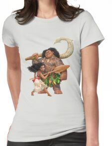 Moana Journey Womens Fitted T-Shirt