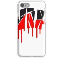 graffiti farbe spray important cool digital zerbrochen very person design logo muster text  iPhone Case/Skin