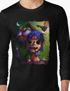 Gorrillaz Tribute Long Sleeve T-Shirt