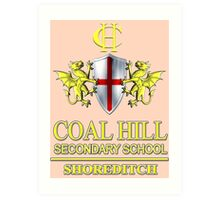 Doctor Who - Coal Hill Secondary Art Print
