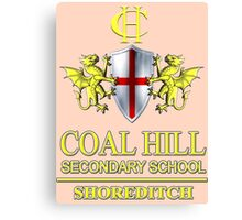 Doctor Who - Coal Hill Secondary Canvas Print