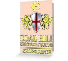 Doctor Who - Coal Hill Secondary Greeting Card