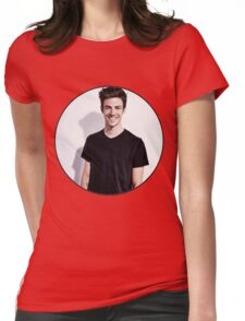 Grant Gustin Womens Fitted T-Shirt