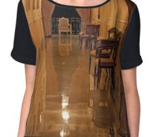 River Of Reflection Chiffon Top