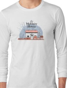 McElroy House in Fall Long Sleeve T-Shirt