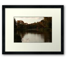 An Evening By La Salle River  Framed Print