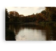 An Evening By La Salle River  Canvas Print
